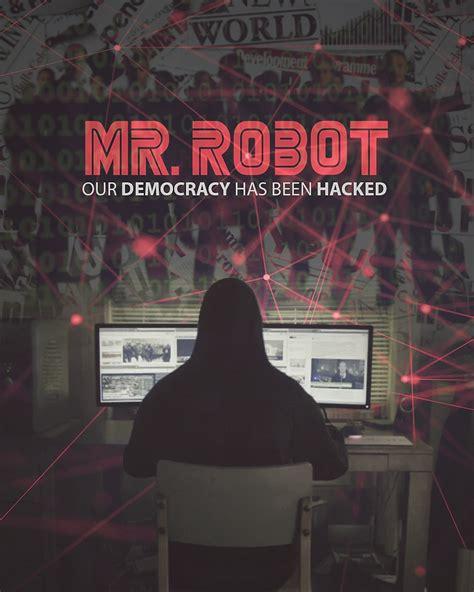 film hacker robot mr robot poster by txsdesign other pinterest mr