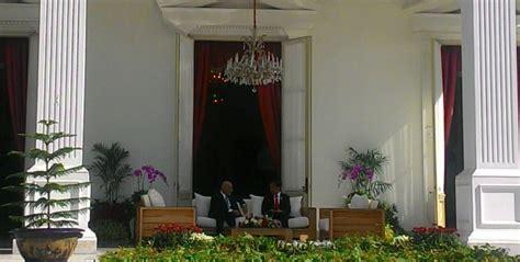 veranda talk sambut presiden afghanistan jokowi kembali lakukan