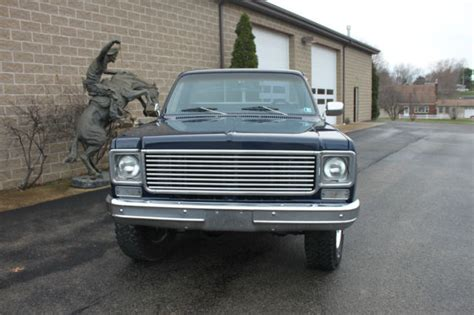 1978 chevy stepside 4x4 classic chevrolet c 10 1978 for sale
