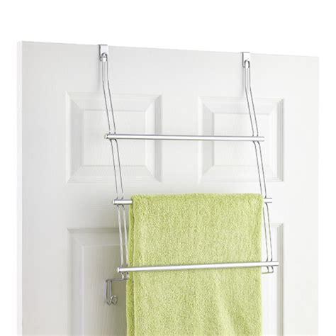 the door towel racks classico the door towel rack the container store