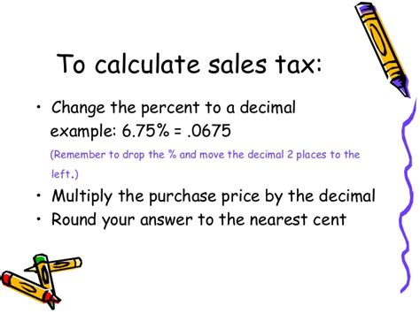 Find Sales Calculating Sales Tax