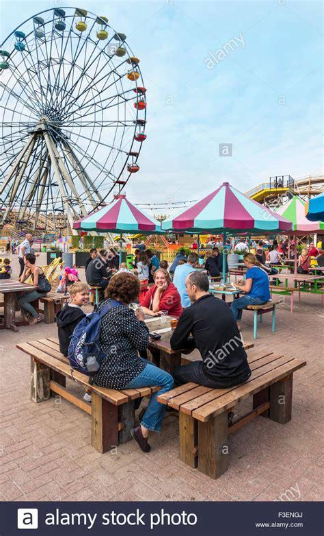 theme park kent uk dreamland amusement park margate kent england uk stock