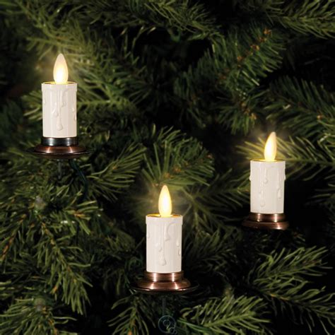 luminara christmas tree strand candles the most realistic tree candles string of 5 candle lights white ebay
