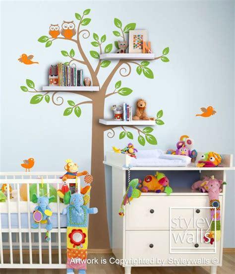 kid room decals best 25 tree shelf ideas on tree bookshelf shelves and shelves