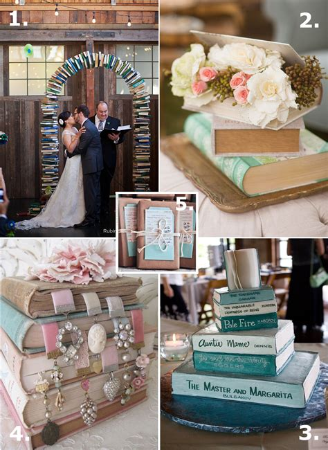 are books your thing here are some ideas for an literature themed wedding 1