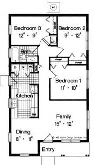 simple house plans floor plan blueprint small