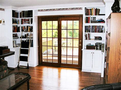 Built In Bookcase With Doors Wall Units Extraordinary Built In Shelves With Doors Built In Bookcases Ikea Built In