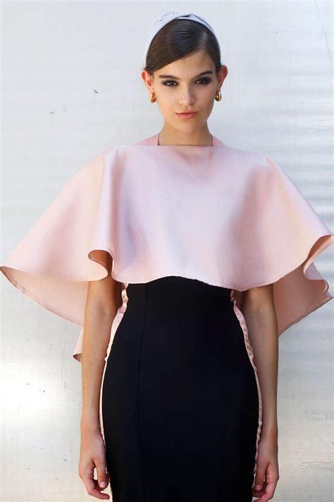 best cappa top y capa multiposicion de rosa palo