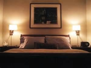 Bedroom Lamp Ideas by Romantic Bedroom Lighting For Nice Bedroom