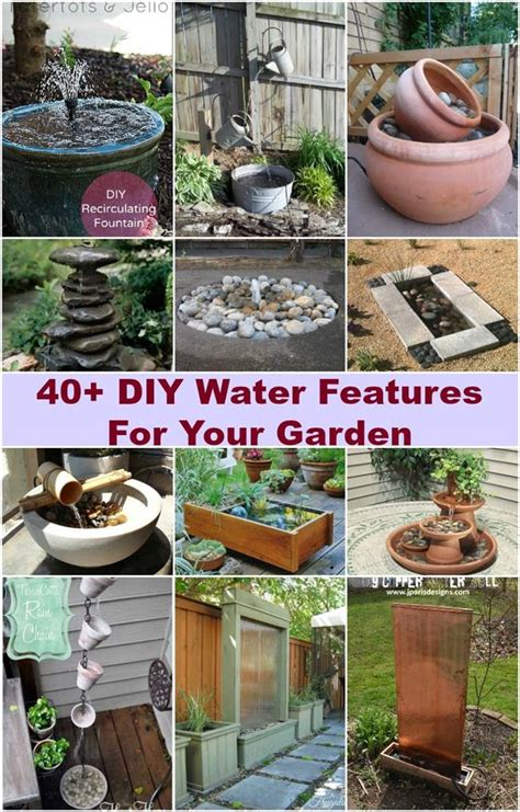 garden water features ideas 40 creative diy water features for your garden