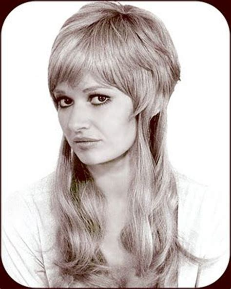 60s feather hair cut big thing 1970s and feathers on pinterest