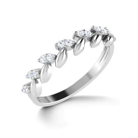 platin ring floral elegance platinum ring jewellery india