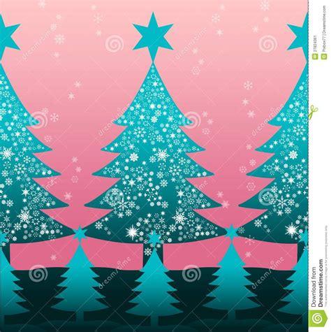 nice christmas trees nice christmas tree illustration pattern stock