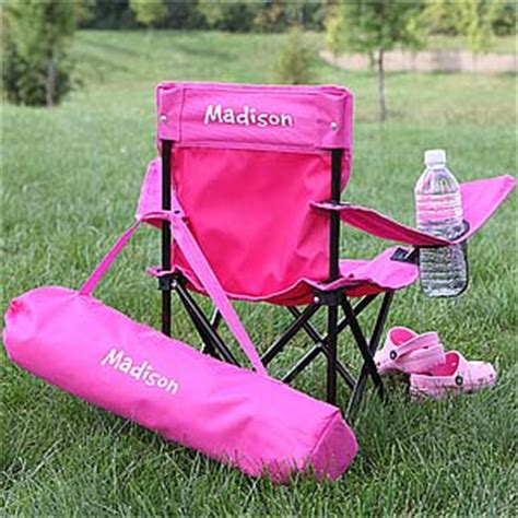 Personalized Chair by Personalized Folding Chairs Pink