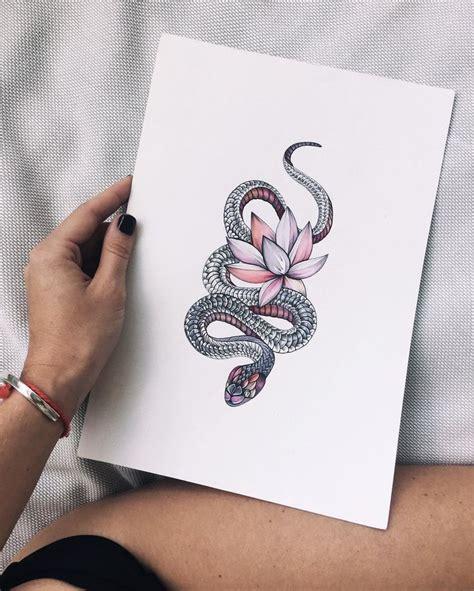 pinterest tattoo snake se dette instagram billede af sashatattooingstudio