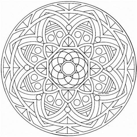 mandalas stained glass coloring book pdf mandalas para pintar mandalas geometricos