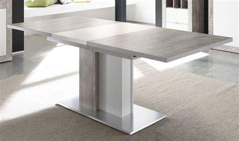 und esstisch esstisch 160 x 90 cm betonoptik grau weiss matt 91 00486