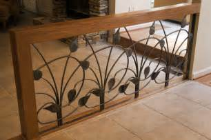 Decorative Divider Pikesville Railing Contemporary Family Room
