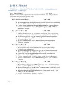 Musiel Jodi Resume Materials Planning 2