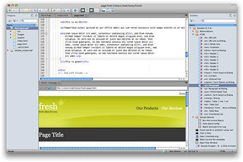 format html komodo edit 10 fantastic free web page editors