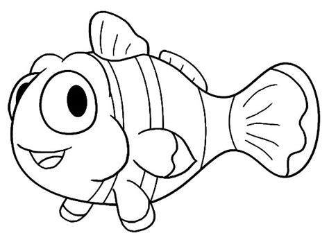 free clownfish coloring pages