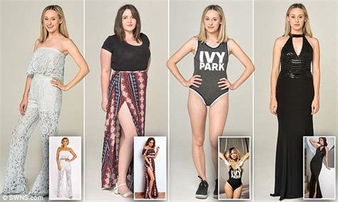 Beyonces Clothing Range Aimed At Normal by Femail Tests Keegan Myleene Klass And