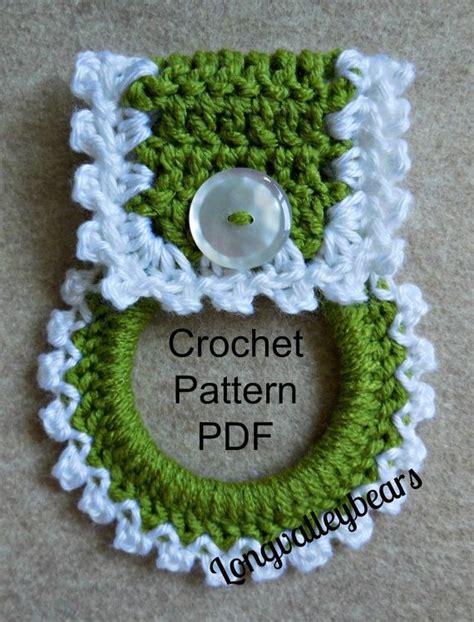 pattern for dishcloth holder crochet kitchen towel holder pattern pattern to make your
