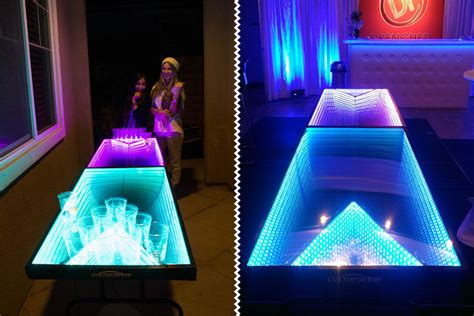 light up led pong table mikeshouts
