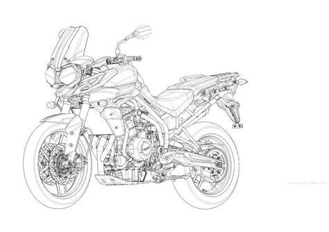 Gear Set Tiger By Bike World triumph adventure 1200 triumph s big adventure mcn
