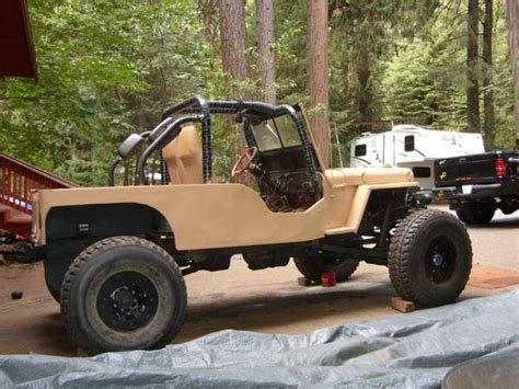 Stretched Willys Jeep 1946 Cj2a Stretched Pollockpines Ca2