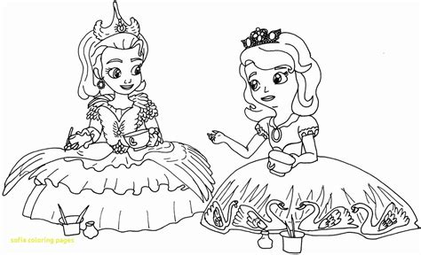 sofia the first coloring pages printable tagged with sofia the first printable images thekindproject
