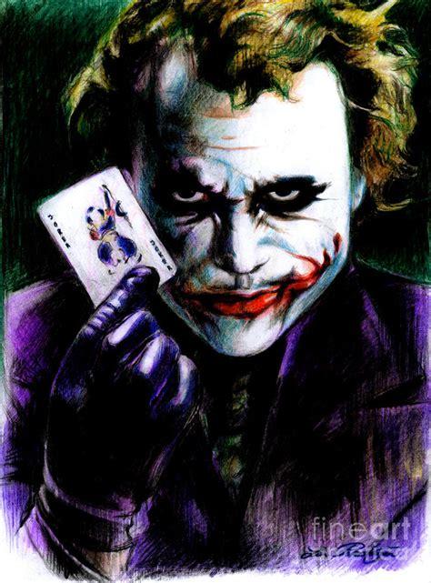joker painting the joker by petershagen
