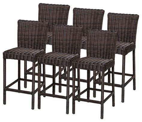 tropical style bar stools 6 rustico barstools w back tropical outdoor bar