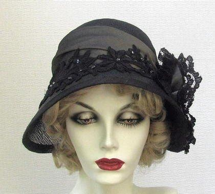 made couture vintage style cloche s hat by gail