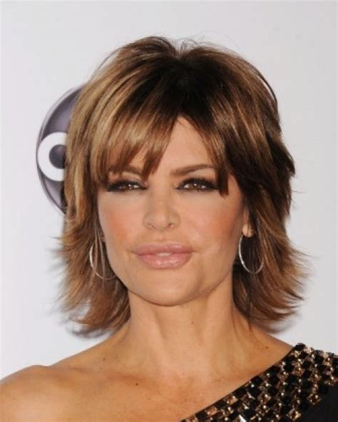 Lisa Rinna Long Layered Hair | lisa rinna hair best medium hairstyle