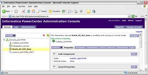 Informatica Admin by Supporting Tasks For Dac And Informatica Powercenter