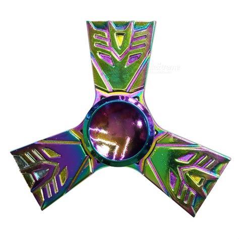 59 Fidget Spinner Segitiga Transformer Figure Transformers dayspirit transformers style fidget releasing spinner multicolor