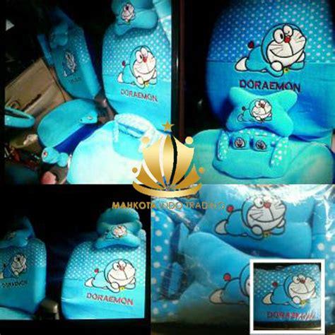 Quality Bantal Mobil Doraemon sarung jok doraemon mobil 18 in 1 bantal mobil 18in1 doraemon biru 2 baris shopee indonesia