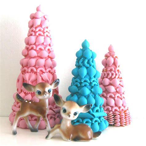 Handmade Trees Craft - mod and mint vintage inspired craft tutorial pasta