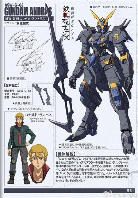 Kaos Gundam Gundam Mobile Suit 29 gundam mobile suit gundam iron blooded orphans asw g