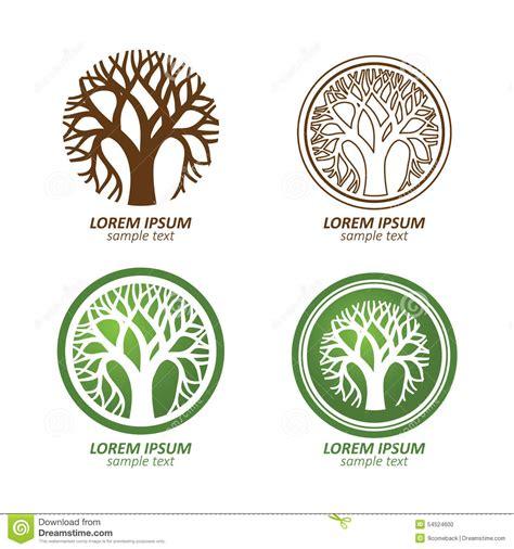 Tree Logo Stock Vector Image 54524600 Green Circle Tree Vector Logo Design Stock Vector 235140895