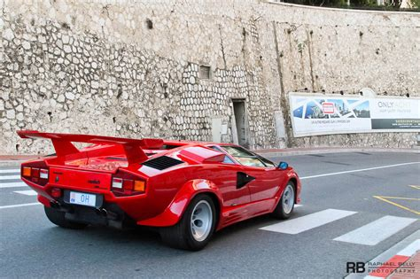 Lamborghini Countach Qv Lamborghini Countach 5000 Qv In Monaco Gtspirit