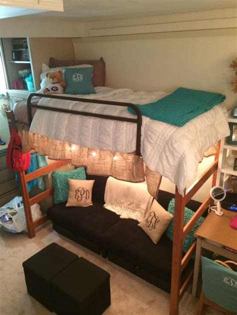 college bed uga dorm room college pinterest dorm monogram