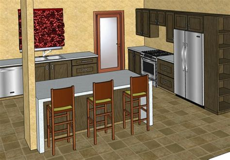 google sketchup kitchen design modest on with free 3d bingo design a kitchen or bathroom in google sketchup on