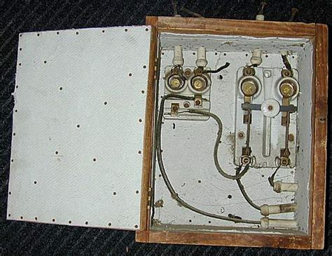 early electrical wiring early 1900s fuse box get free image about wiring diagram