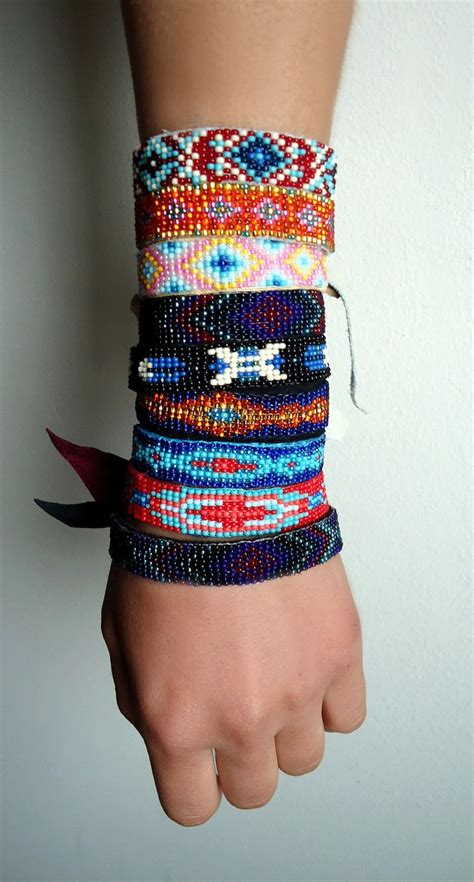 how to make indian beaded bracelets american bead bracelets jewelry designs with seed