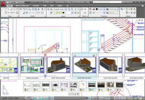 quick view layout autocad cad2009