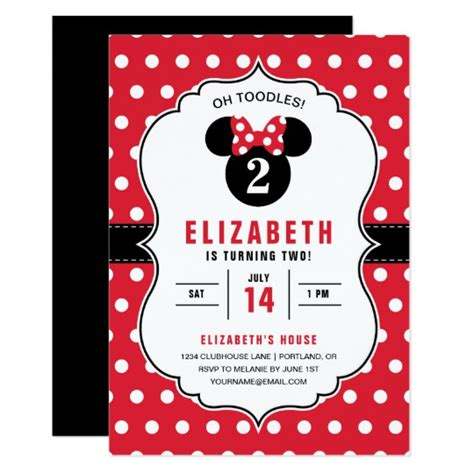 minnie mouse place cards template minnie mouse white polka dot birthday card