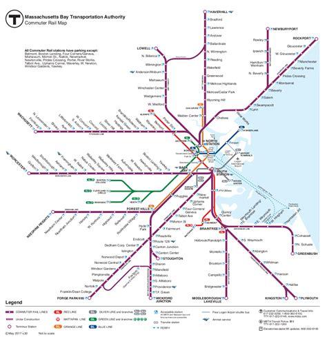 boston mbta map mbta gt commuter rail maps and schedules