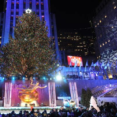 what time do they light the tree events in manhattan midtown nyc events rockefeller center
